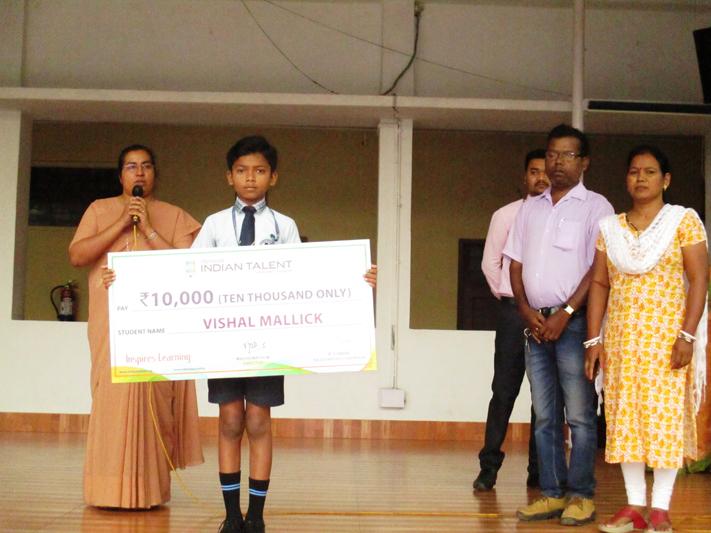 INDIAN TALNT NATIONAL WINNER