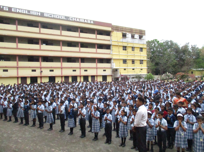 FIRST DAY IN SCHOOL ASSEMBLY