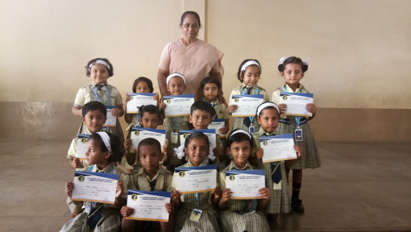 KG CLASS PRIZE …BY SR GEETHA