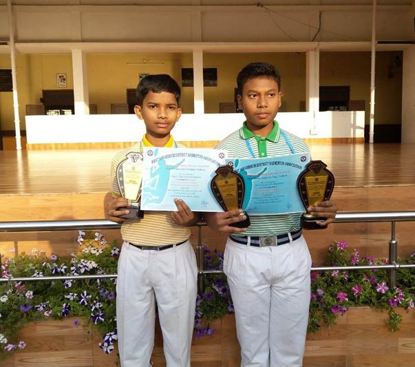 WINNERS OF BADMINTON CHAMPIONSHIP