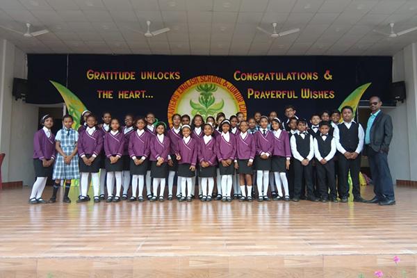 Our School's Choir Group